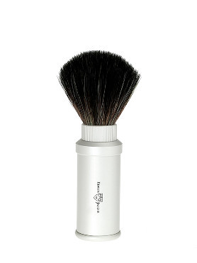 Edwin Jagger Travel Shaving Brush Synthetic Bristles Slim small image