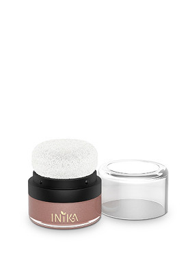 Inika Mineral Blusher Puffer Pot Rosy Glow small image