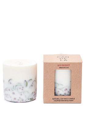 Munio Ashberries and Bilberry Leaves Candle  small image