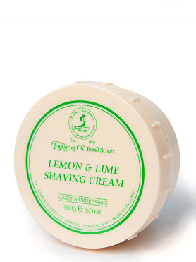 Taylor of Old Bond Street Lemon & Lime Shaving Cream 150 g small image