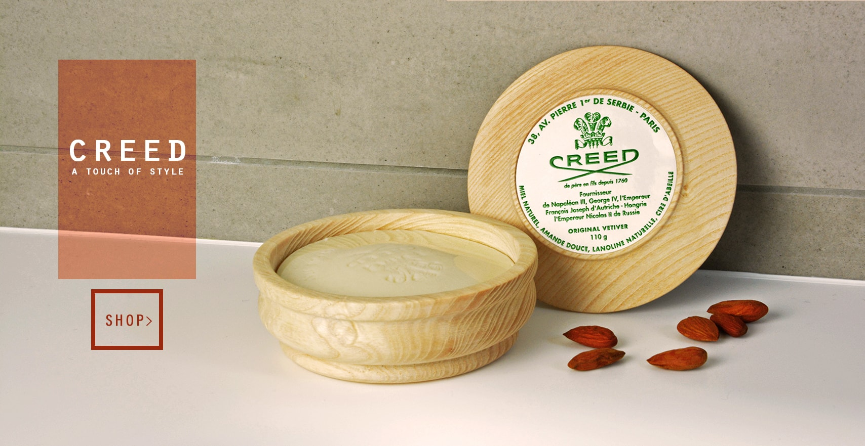 Creed men products