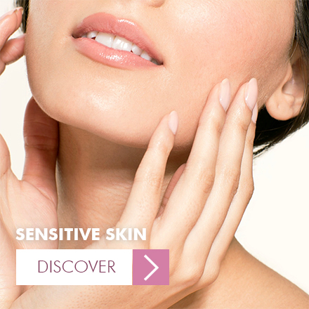 Skin care products for sensitive skin